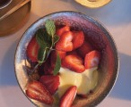 Strawberries with Zabaglione